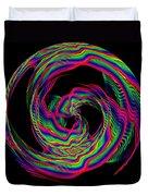 Kinetic Rainbow 36 Duvet Cover