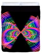 Kinetic Rainbow 38 Duvet Cover