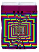 Kinetic Rainbow 42 Duvet Cover