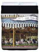 King Arthur Carrousel Fantasyland Disneyland Duvet Cover