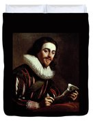 King Charles I Of England (1600-1649) Duvet Cover