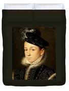 King Charles Ix Of France Duvet Cover