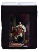 King Edward Vii Of England (1841-1910) Duvet Cover