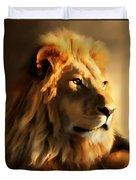 King Lion Of Africa Duvet Cover