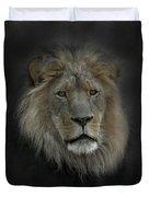 King Of Beasts Portrait Duvet Cover