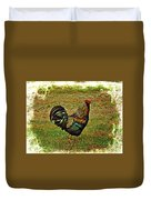 King Of The Hill - Winery Rooster Duvet Cover