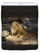 King Of The Rock Duvet Cover