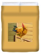 King Of The Roost Duvet Cover