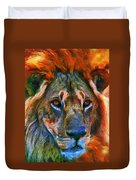 King Of The Wilderness Duvet Cover