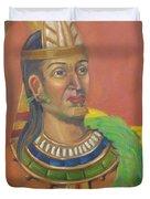 King Topiltzin Duvet Cover