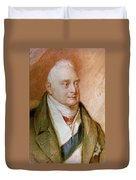 King William Iv Of England (1765-1837) Duvet Cover