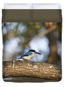 Kingfisher-top-end Australia Duvet Cover