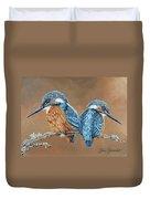 Kingfishers Duvet Cover