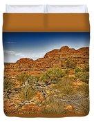 Kings Canyon-the Rim V2 Duvet Cover