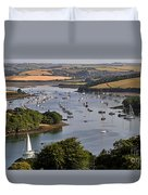 Kingsbridge Estuary Devon Duvet Cover