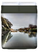 Kingsbridge Reflections  Duvet Cover