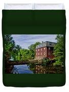 Kingston Mill Near Princeton New Jersey Duvet Cover
