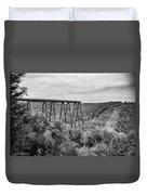 Kinzua Viaduct 6911 Duvet Cover
