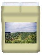 Kinzua Viaduct 6916 Duvet Cover