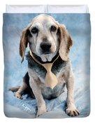 Kippy Beagle Senior And Best Dog Ever Duvet Cover