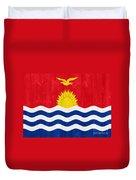 Kiribati Flag Duvet Cover