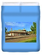 Kirkwood Station Duvet Cover by Marty Koch