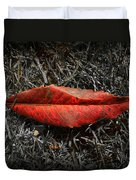 Kiss Of Leaf Duvet Cover