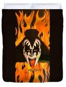 Kiss The Demon Duvet Cover