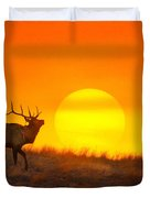 Kiss The Sun Duvet Cover