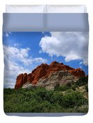Kissing Camels - Garden Of The Gods Duvet Cover