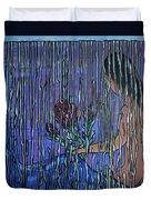 Kissing Rain Duvet Cover