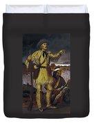 Kit Carson (1809-1868) Duvet Cover