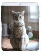 Kitchen Cat Duvet Cover