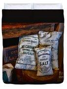 Kitchen - Food - Sugar And Salt Duvet Cover