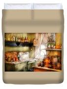 Kitchen - Momma's Kitchen  Duvet Cover