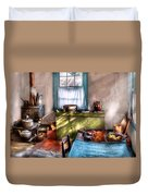 Kitchen - Old Fashioned Kitchen Duvet Cover