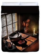 Kitchen - On A Table II  Duvet Cover by Mike Savad