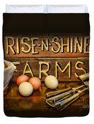 Kitchen  Rise And Shine Duvet Cover