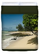 Kite Beach Kanaha Beach Maui Hawaii Duvet Cover