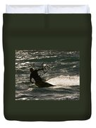 Kite Surfer 03 Duvet Cover by Rick Piper Photography