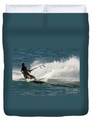 Kite Surfer 04 Duvet Cover by Rick Piper Photography