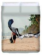Kiteboard Gear Duvet Cover
