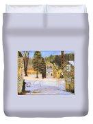 Kittattiny Park Ranger Residence Duvet Cover