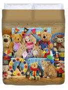 Kitten Dress Box Ck526 Duvet Cover