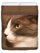 Kitty Boy Duvet Cover