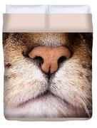 Kitty Nose  Duvet Cover