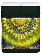 Kiwi Slice Duvet Cover