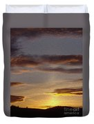 Klamath Golden Sunset Duvet Cover