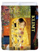 Klimt Collage Duvet Cover