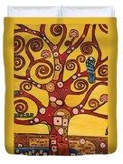 Klimt Study Tree Of Life Duvet Cover